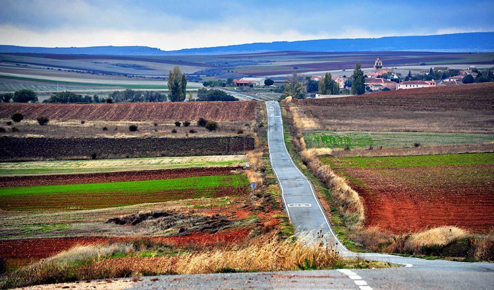Encinas (Segovia) paisaje pac, autor a. alvarado
