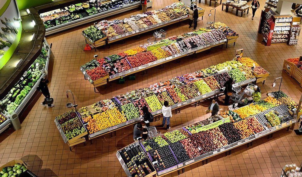 supermercado fruta