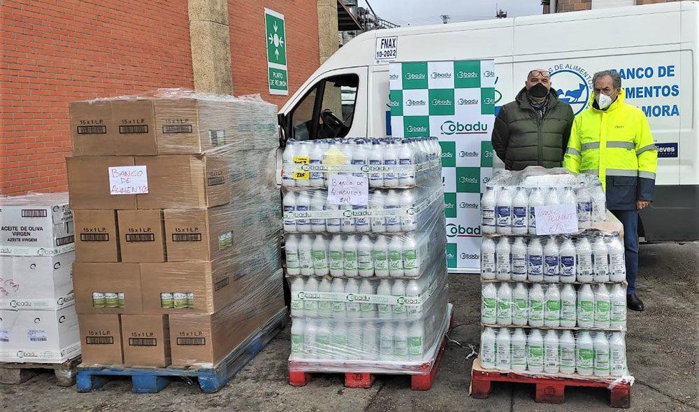 Banco de Alimentos Donacion Cobadu febrero