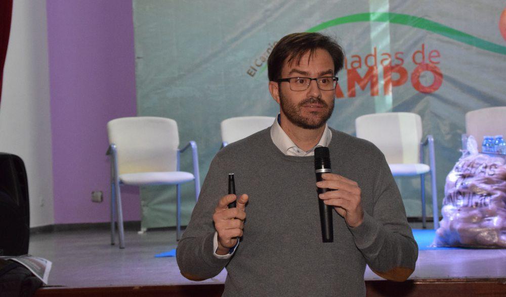Carlos Bayon de kali durante la edicion  de la Jornada de El Carpio