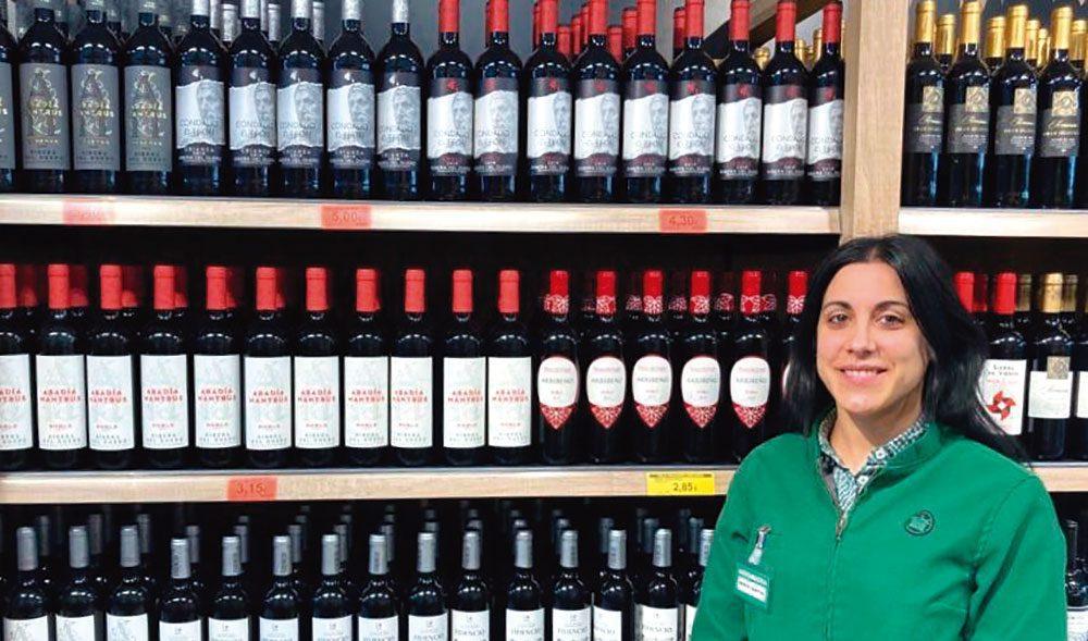 Merce Santos Especialista en Vinos tintos del Departamento de Prescripcion de Mercadona