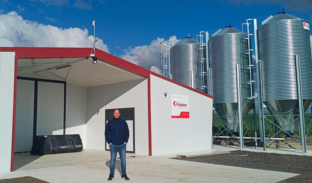 Hector Arroyo, granja de pollos Ataquines (alcalde  )